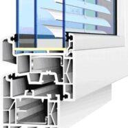 Пластиковое окно с трехконтурным уплотнителем